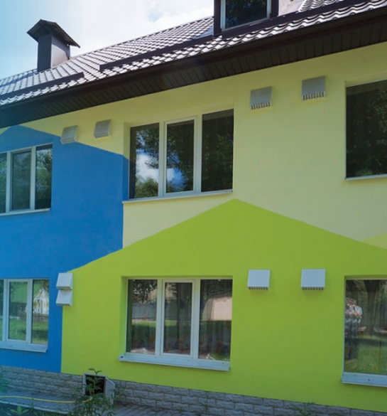 Вентиляція для приватного шкільного класу 32 м2